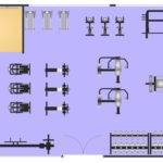 Building Gym Spa Plans Layout Sample