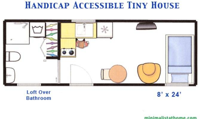 Building Handicap Accessible Tiny House Minimalist Home