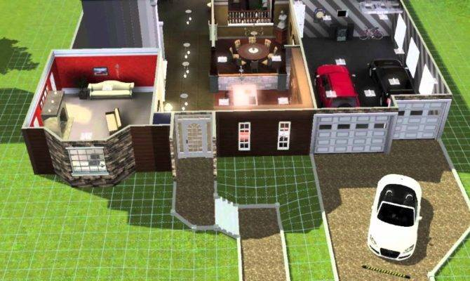 Building Large Home Sims Youtube