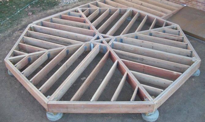 Building Octagon Deck Mattbusche Blog Article