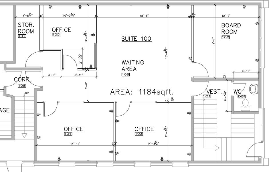 Building Plans House Floor Home