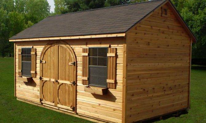 Building Plans Shed House