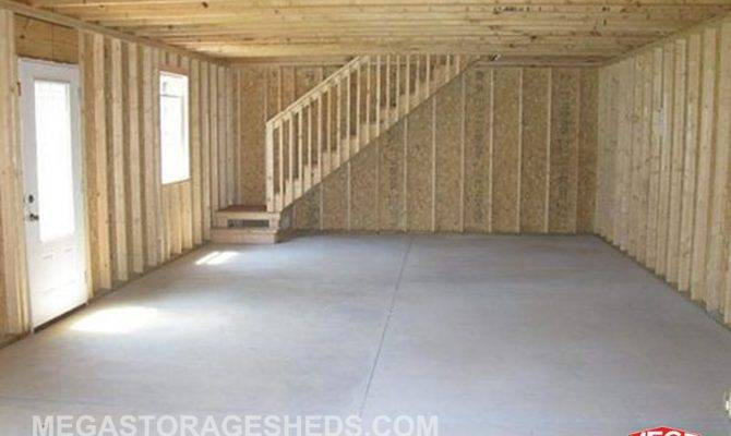 Building Plans Two Story Storage Buildings Texas Resin Sheds