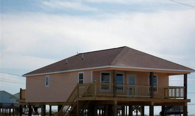 Building Selling Beach Homes Surfside Texas