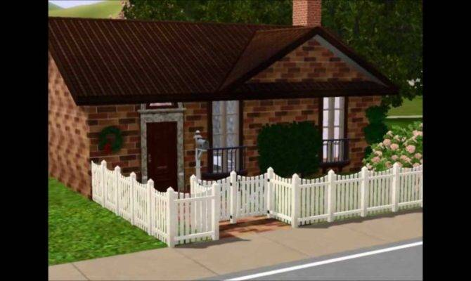 Building Small Cute House Sims Youtube
