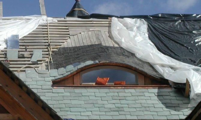 Building Timberframe Home Scratch Eyebrow Dormer