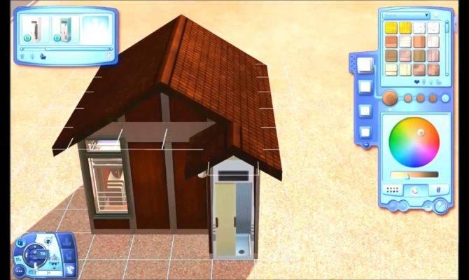 Building Tiny House Sims Youtube