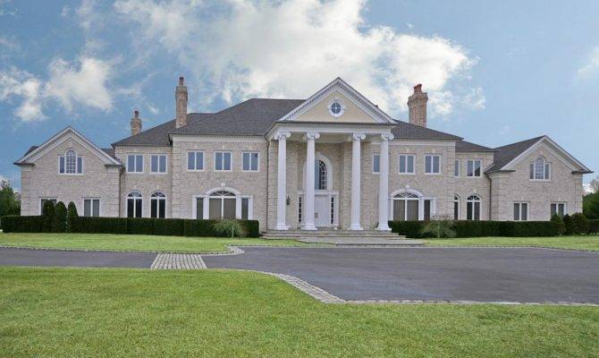 Built Incredible Colonial Mansion Appears New