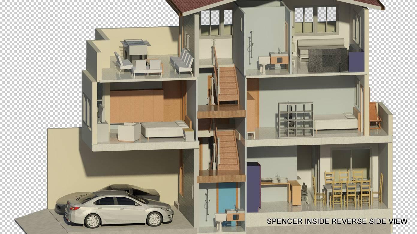 Built Model Rendering Spencer Project