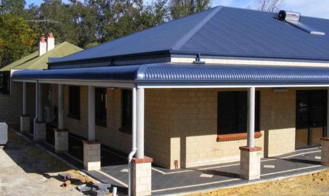 Bullnose Roofing Verandahs
