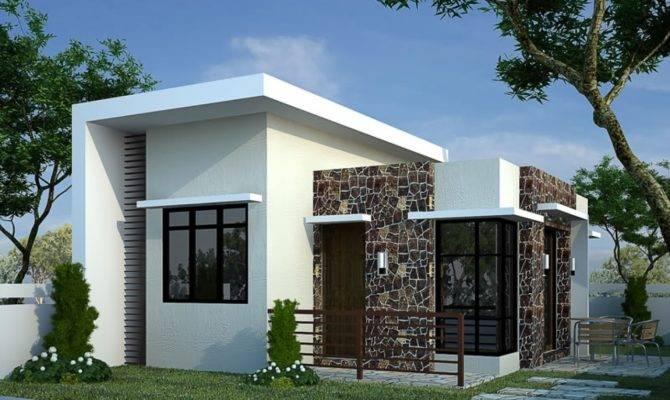 Bungalow House Design Contemporary Plans Modern