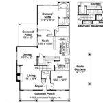 Bungalow House Plan Markham Floor