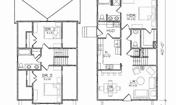 Bungalow House Plans Basement Apartment Home Desain