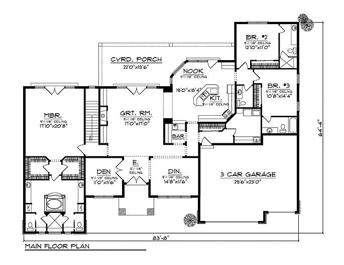 Bungalow House Plans Dream Home Source