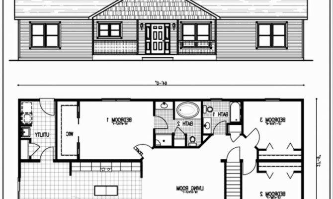 Bungalow House Plans Most Popular Splendid Basement Floor