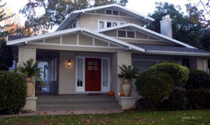 Bungalow Porch Style Homes Arts Crafts