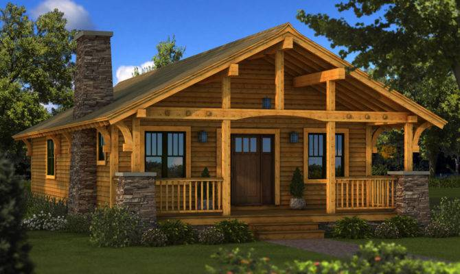 Bungalow Southland Log Homes