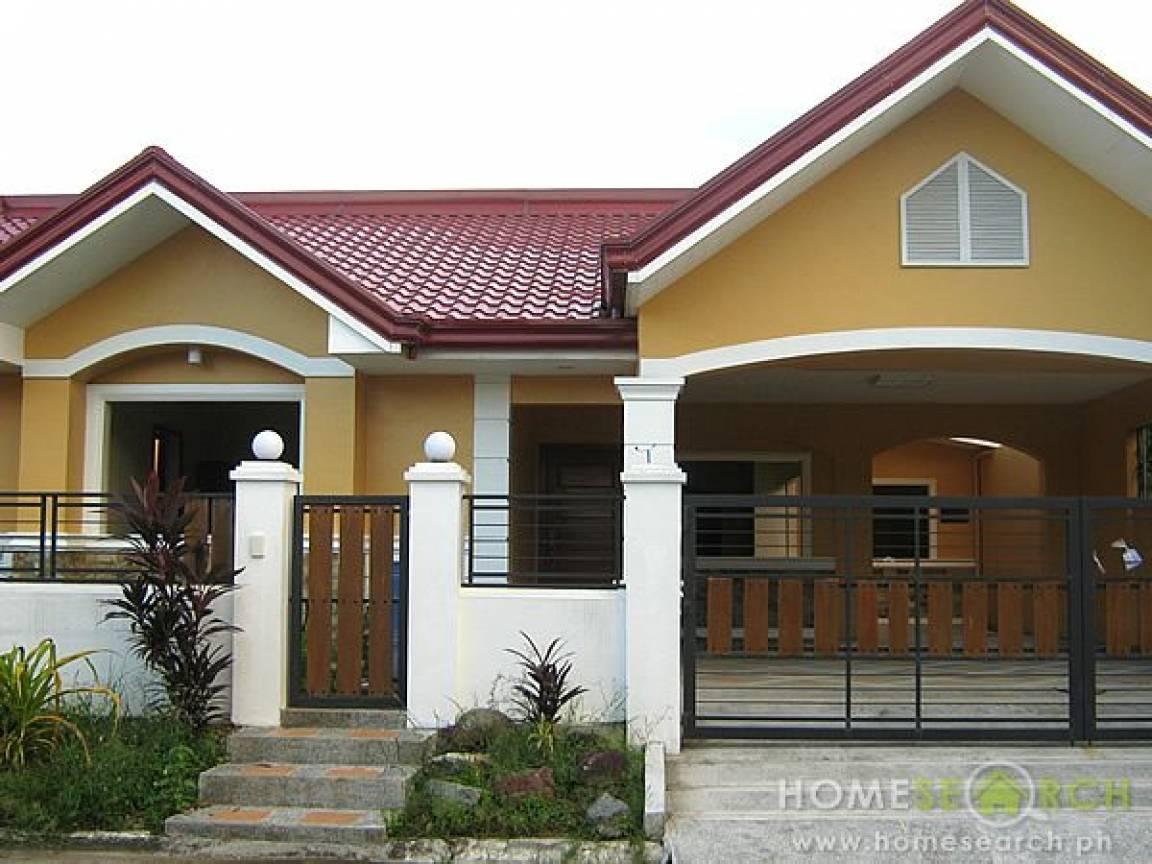 Bungalow Style House Design Philippines Prairie