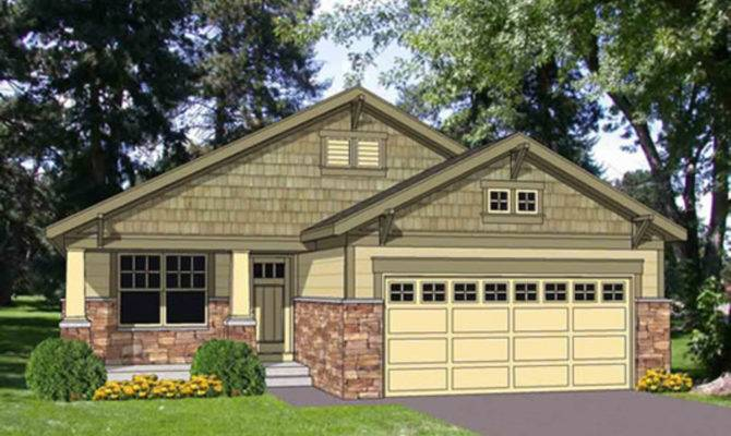 Bungalow Style House Plan Beds Baths