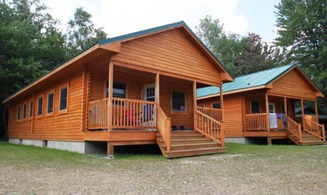 Bunkhouse Designs Explorer Camping Log Cabin