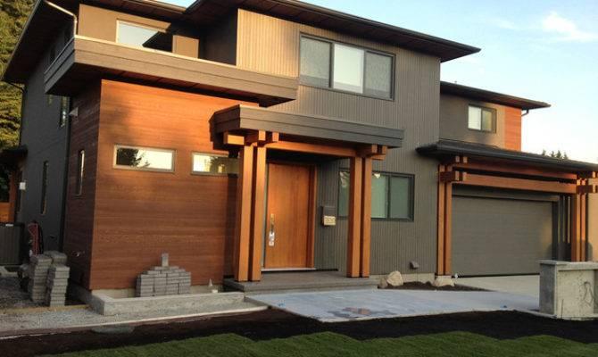 Burnaby Custom Contemporary Timber Frame Home