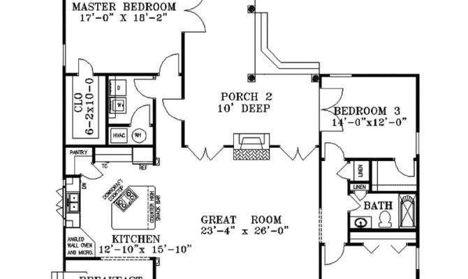 Bushnell Hill Country Home Plan House Plans