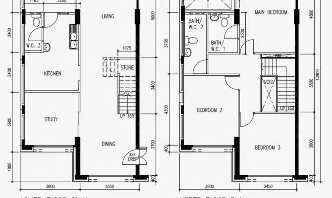 Butterpaperstudio Reno Cck Maisonette Basic Hdb Floorplan