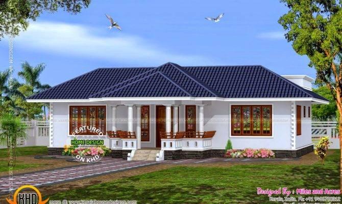 Buzz House Plan Single Floor Kerala Home Design