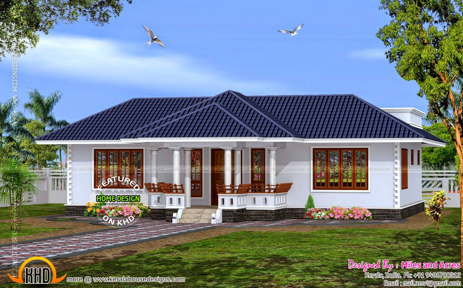 Buzz House Plan Single Floor Kerala Home Design