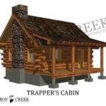 Cabin Floor Plans Historic Log Homemade