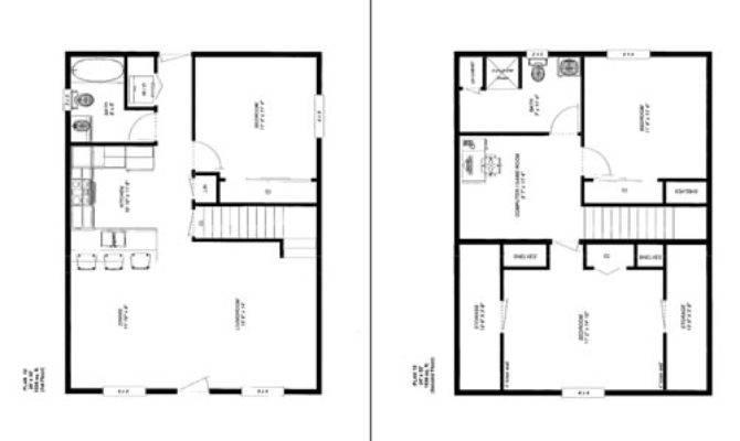 Cabin Floor Plans Home Deco