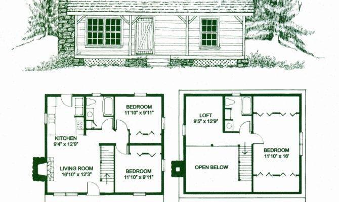 Cabin Floor Plans Loft Lovely Log Home
