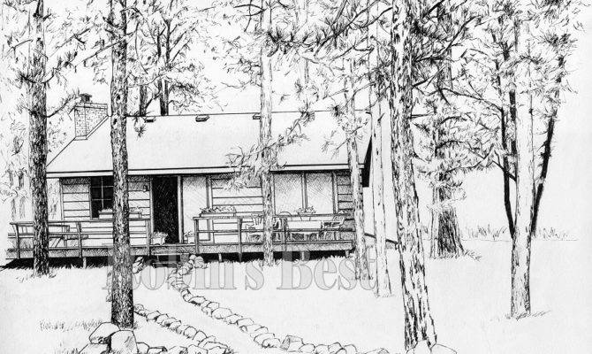 Cabin Originals Reproductions Drawing Heated