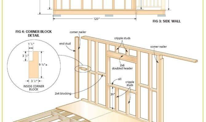 Cabin Plans Designs House Cottage