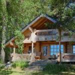 Cabin Plans Rustic Modern Energy Efficient Cottage