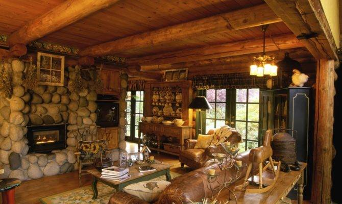 Cabin Style Modern Decor Marriage Rustic
