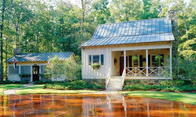 Cabins Cottages Under Square Feet Southern Living