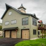 Cabot Barn House One Foot Print Three Floor Plan Sizes
