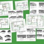 Cad House Plans Adobe Pdf Autocad Dwg Formats Package