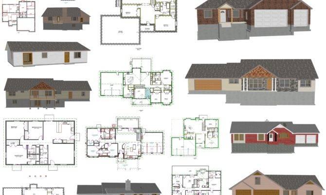 Cad House Plans Low Per Plan