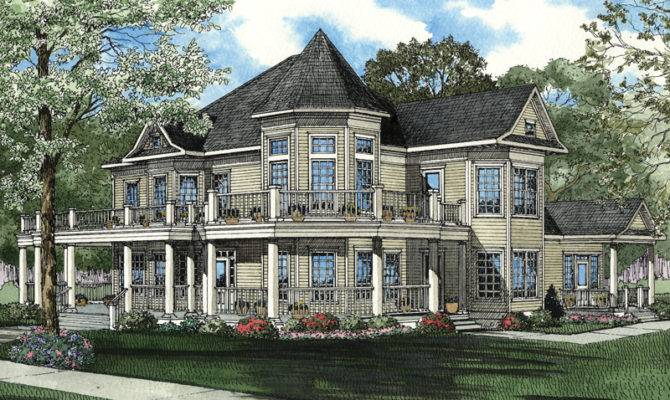 Cairns Luxury Victorian Home Plan House Plans