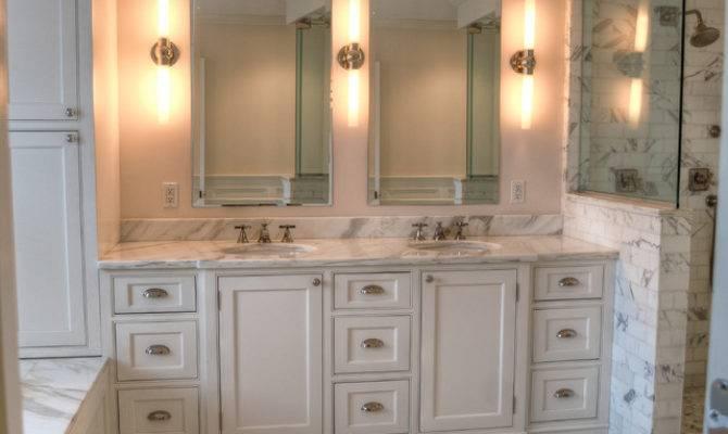 Calacutta Master Bath Traditional Bathroom New York