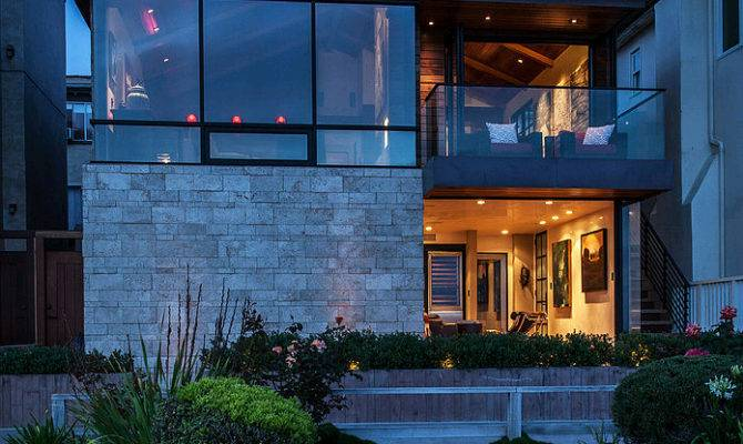 California Beach House Plan Awesome Hireonic