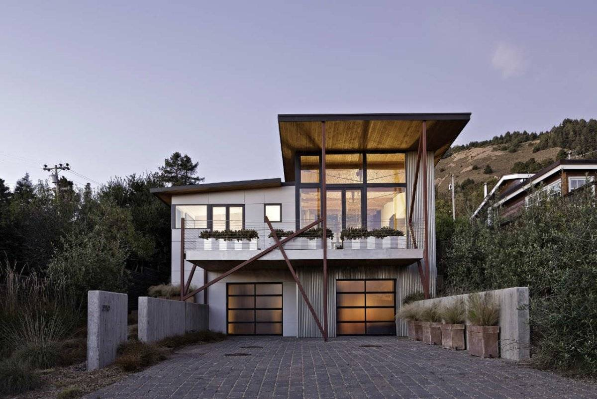 Californian Beach House Designed Design