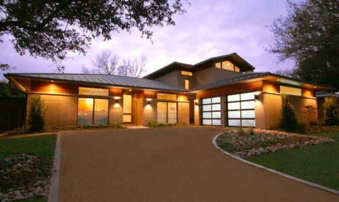 Campanelli Shaped Ranch Ideas Exterior Contemporary