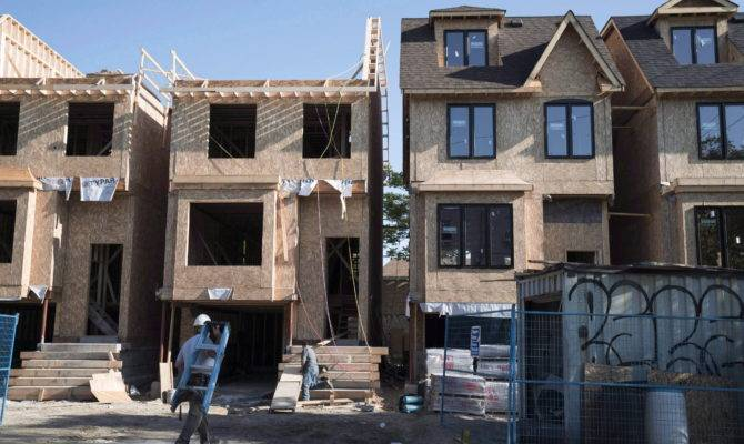 Canadian Home Construction Soaring Even More Than House