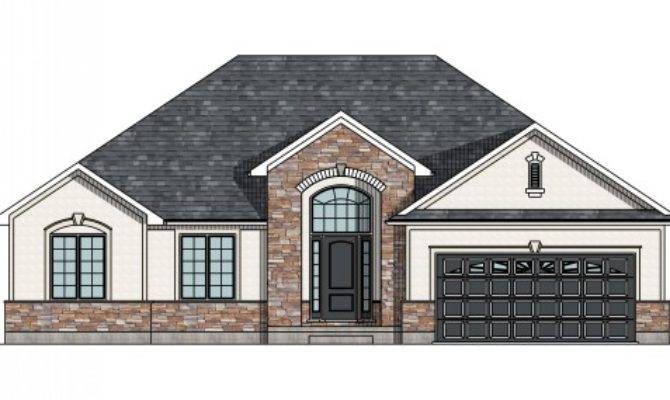 Canadian Home Designs House Plans Garage