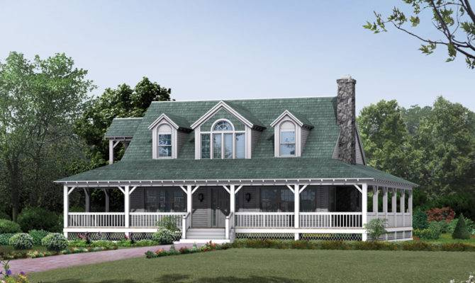 Cane Hill Country Farmhouse Plan House Plans