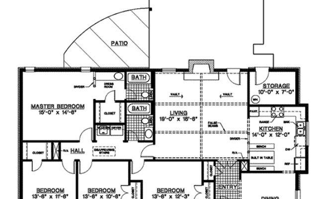 Canfield One Story Home Plan House Plans More