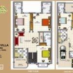 Cantt Villas Multan Layout Plan Floor Plans Drawings